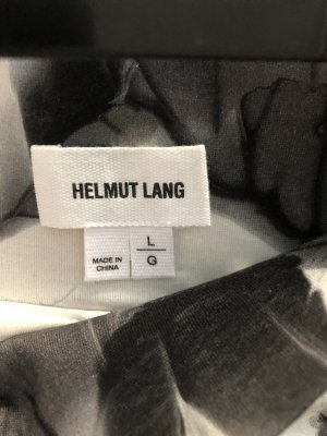 Helmut Lang Gonna midi multicolore