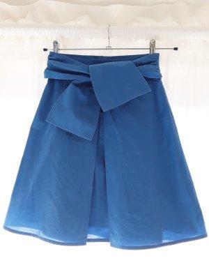 Hugo Boss High Waist Skirt blue-cornflower blue