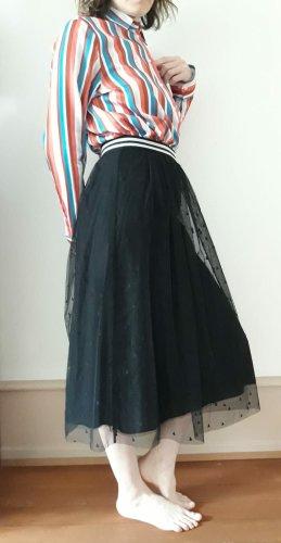 Hugo Boss Tulle Skirt black cotton