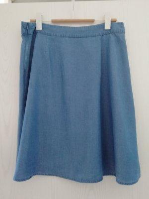 Ichi Gonna di jeans blu pallido-grigio ardesia Lyocell