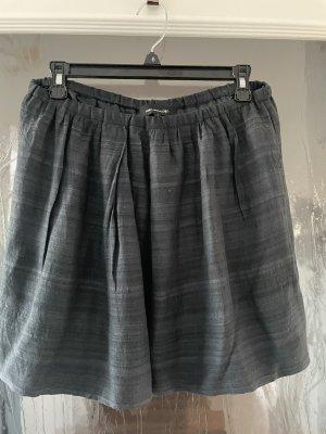 Isabel Marant Flared Skirt dark blue-slate-gray