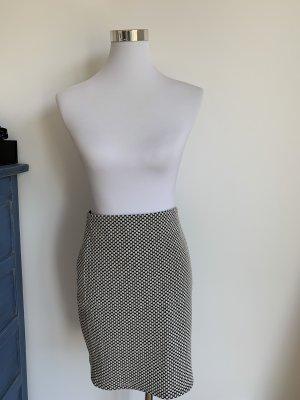 Rock von Loft, S 36, schwarz weiss, pencil skirt,