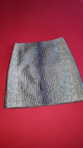 Marc Cain Asymetryczna spódniczka srebrny-jasnoszary