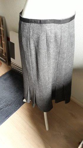 Marc O'Polo Plaid Skirt dark grey wool