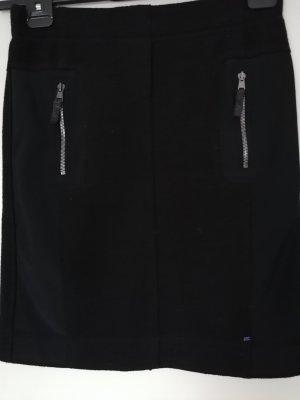 Marc Cain Falda de lana negro