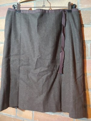 Marc O'Polo Jupe en laine brun