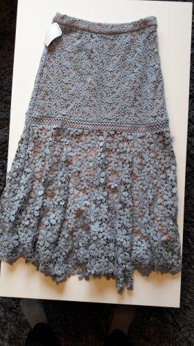 Michael Kors Knitted Skirt beige-pale blue