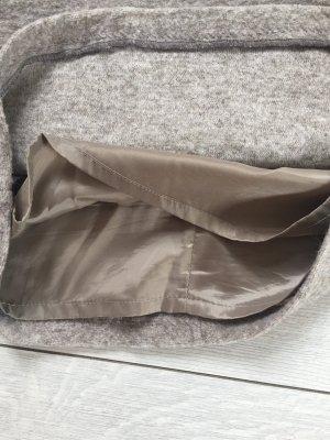 More & More Gonna lavorata a maglia beige