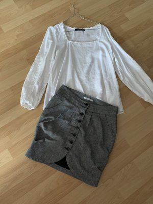 Only Knitted Skirt grey