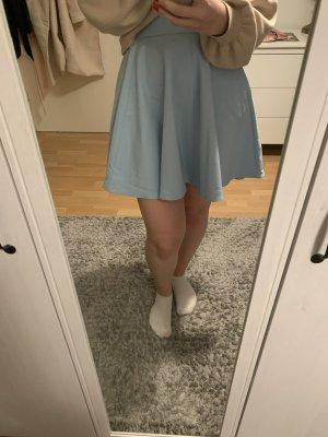 Orsay Falda de patinador azul bebé-azul claro