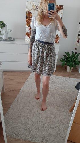 Promod Silk Skirt multicolored