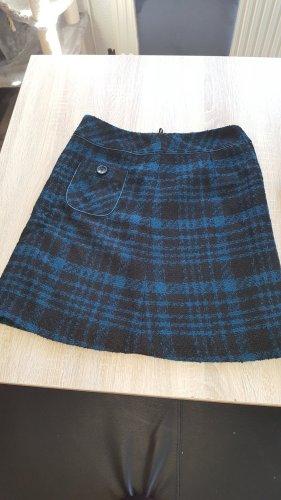 Steilmann Gebreide rok zwart-blauw