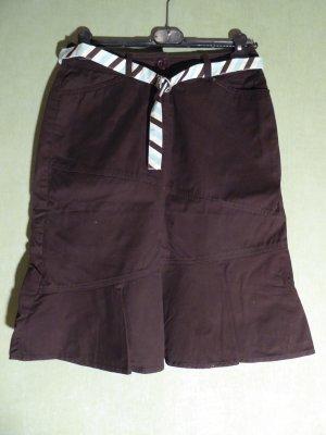 Street One Asymmetry Skirt brown