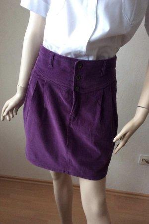 Rock von Vero Moda Lila violett Größe 42