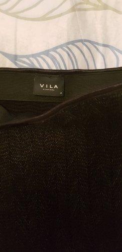 Vila Falda stretch negro