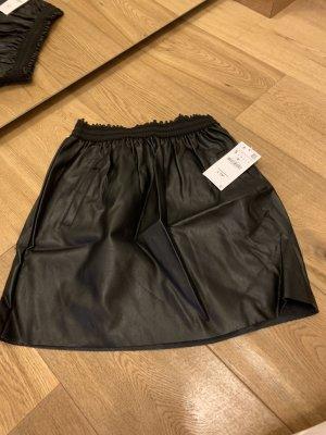 Zara Falda globo negro