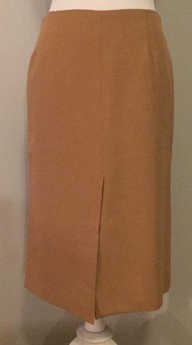 Zara Gonna a tubino color cammello