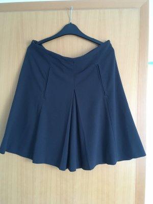 Zara Basic Falda asimétrica gris antracita