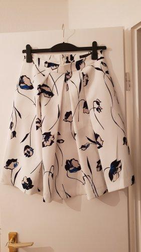 Zara Skirt white-blue