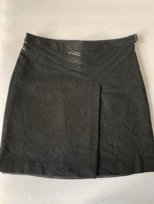 Armani Jeans Jupe en laine noir