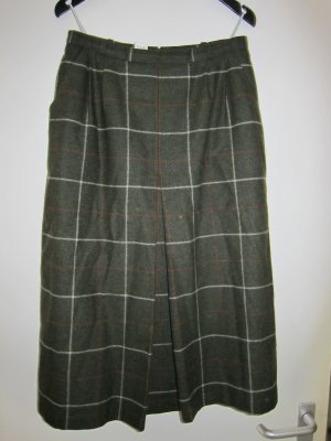 Wool Skirt forest green new wool