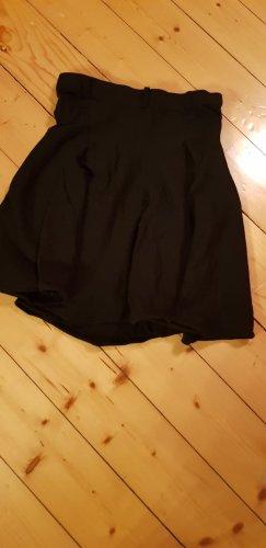 Wollen rok zwart