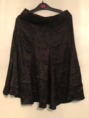 Yessica Falda de seda negro