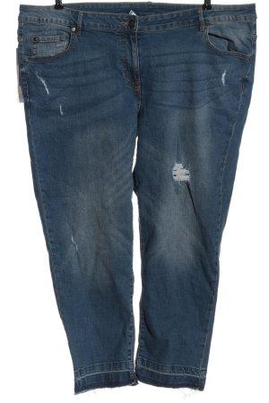 Rock your Curves Jeansy rurki niebieski W stylu casual