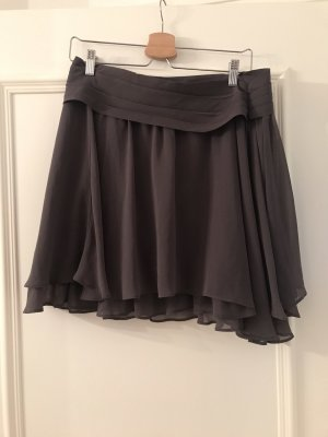 Zara Jupe plissée gris lilas-gris