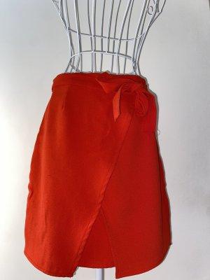 Amisu Jupe portefeuille rouge-rouge fluo