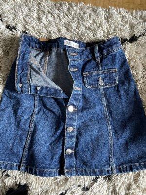 Zara Jupe en jeans bleu foncé