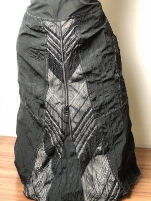 Bonita Plaid Skirt black-anthracite