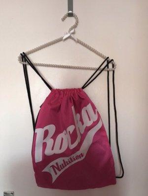 Rocka Nutrition Rucksack pink weiß