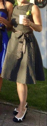 ROCKABILLY 50er Jahre Look - Kleid MIT Petticoat