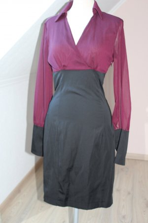 Rockabilly Kleid James Lakeland Gr. 40 bordeaux schwarz