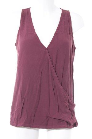 Rockamora ärmellose Bluse pink Casual-Look