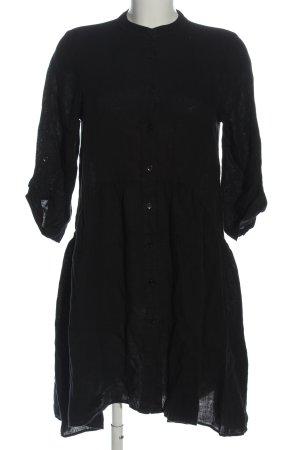 Rockamora Abito blusa camicia nero stile casual