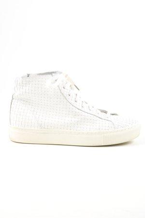 Rockamora Zapatillas altas blanco look casual