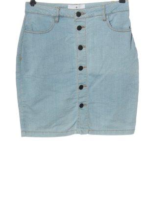 Rockamora Gonna di jeans blu stile casual