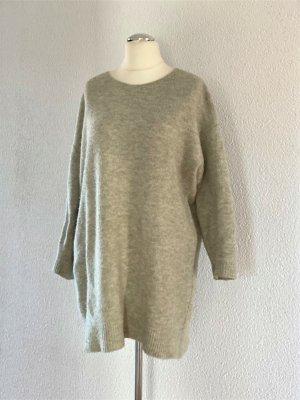 Rockamora Long Pulli Pullover Scandi Wolle beige Gr. M 38/40