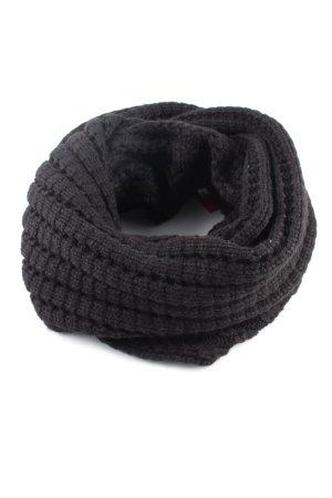 Rockamora Snood zwart kabel steek casual uitstraling