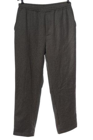 Rockamora Pantalone jersey grigio chiaro stile professionale
