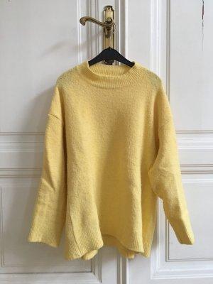 Rockamora Strickpullover Fern | Oversized Pullover XS pastellgelb cosy urban