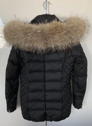 Rockandblue Płaszcz puchowy czarny-antracyt