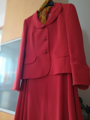 Apanage Suit salmon-bright red