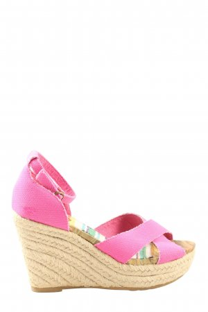 Rocket dog High Heel Sandaletten creme-pink Casual-Look