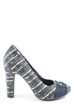 Rocket dog High-Front Pumps blue striped pattern casual look