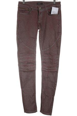 Rockgewitter Skinny Jeans braunrot Casual-Look