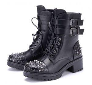 Rockige Nieten Boots Gr. 38