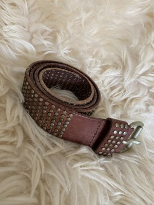 Liebeskind Berlin Studded Belt multicolored leather